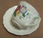 Royal Doulton Malvern 2 Demi Coffee Cups & Saucers