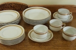 Ohme china Lunch Set, Service, German fine porcelain