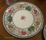 CE Corey Poppy Dinner Plate