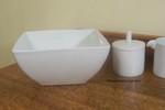 "Rosenthal Loft 8 1/2"" Large Square Serving Bowl"