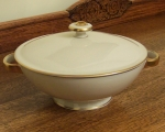 Rosenthal Elegance #3027 ivory with gold Covered Vegetable