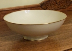 Rosenthal Elegance #3027 ivory with gold Serving Bowl