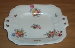 Coalport Square Cake Plate, Sevres Group #8417
