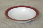 Spode Bordeaux Rimmed Cereal Bowls new set of 4, English Bon