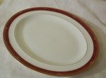 Spode Bordeaux large turkey platter, English bone china