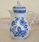 Tirschenreuth Blue Onion Coffee Pot