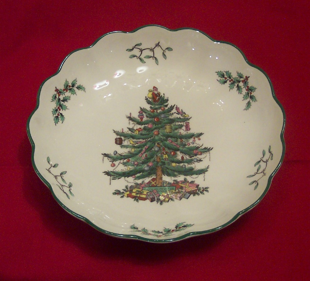 Spode Christmas China Made In England
